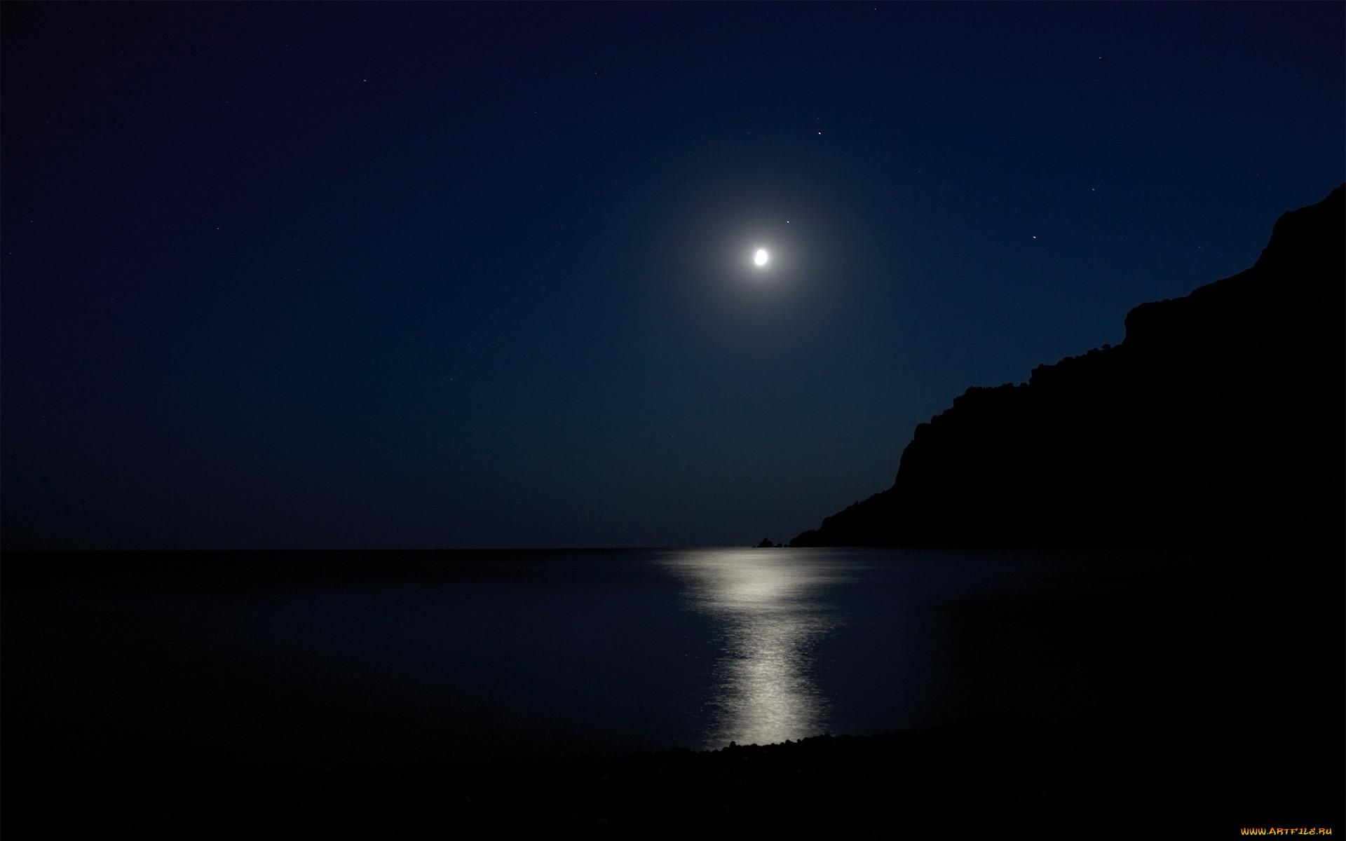 Обои ночь, Пейзаж. Пейзажи foto 18
